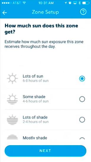 Choose Sun Exposure