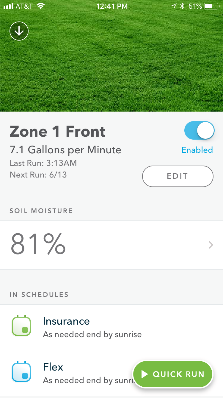 Zone Detail