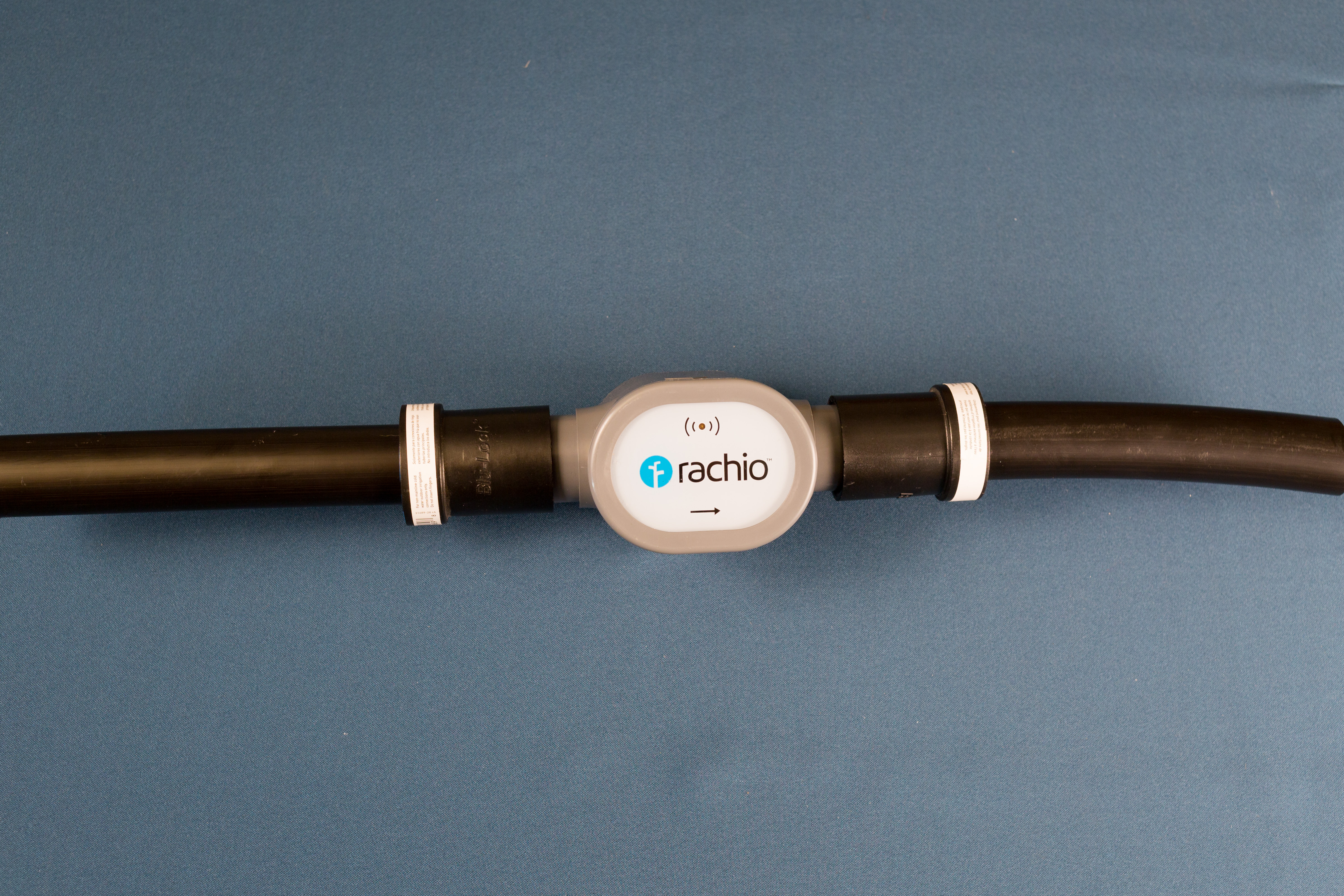 Wireless Flow Meter on 1 inch Poly SDR-9 system