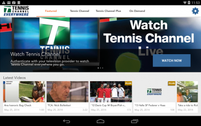 Tennis Channel 2016-11-05