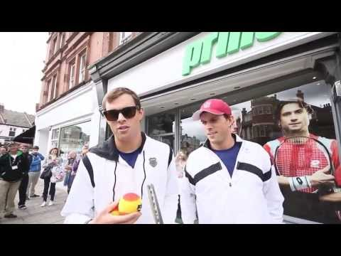 Bryan Brothers visit the Prince Store