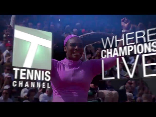 Watch Tennis Channel on Apple TV
