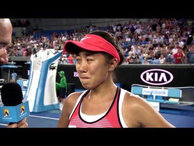 2016 Australian Open Final Rollout