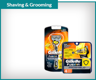 Gillette ProShield Razor, 1ct. $9.49 Cartridges, 4 ct. $21.49 with card Shop Now