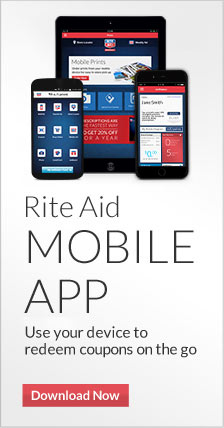 Rite Aid Mobile App. Use your phone to load and redeem coupons on the go. Download now.