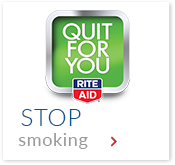 Rite Aid Quit for You. Stop Smoking