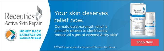 Receutics Active Skin Care. Your Skin Deserves Relief Dermatologist-strength relief is clinically proven to significantly reduce all signs of eczema and dry skin.1 Shop Now. 12014 Clinical studies for ReceuticsTM active Skin Repair.