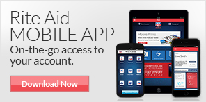 Rite Aid Mobile App. On-the-go access to your account. Download Now.