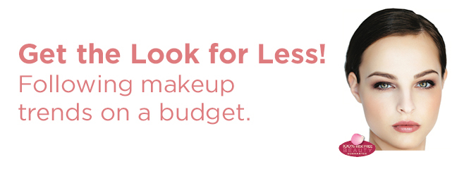 Get the look for less. Following makeuup trends on a budget.