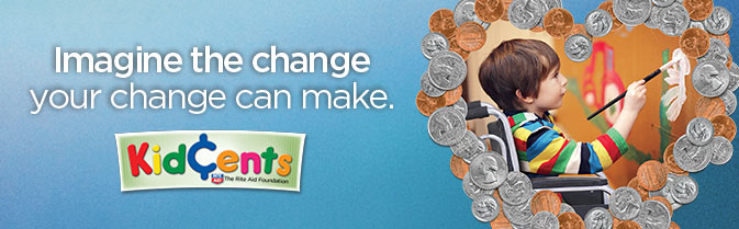 KidCents - Imagine the change your change could make.