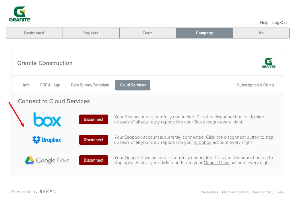 Cloud Based Construction Management