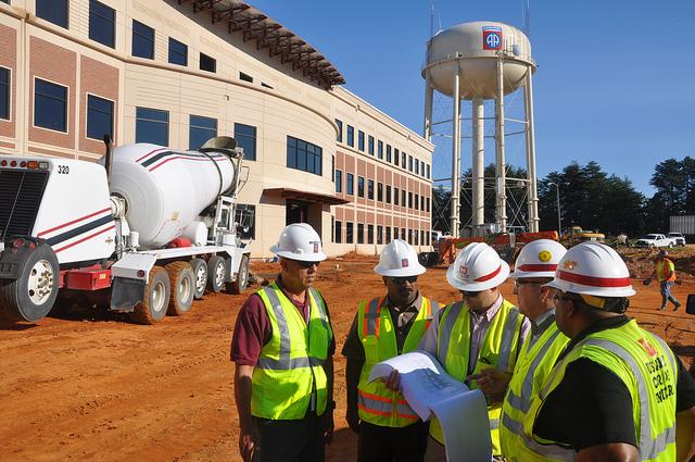 construction contractors win jobs