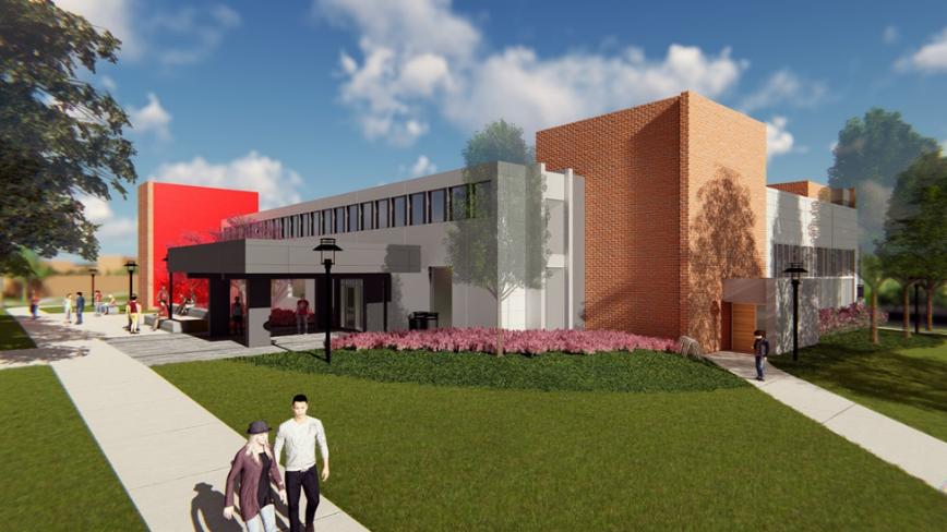 slam construction student union project