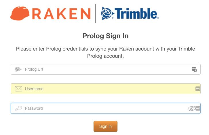 Raken and Prolog Login