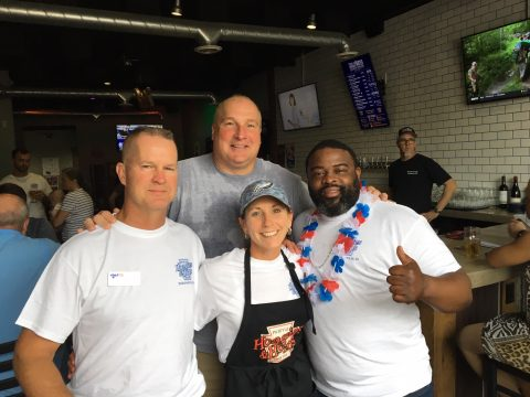 Local Philly-style sandwich shop, Hoagies & Hops, is a longtime supporter of Indianapolis non profit HVAF and its homeless veterans.