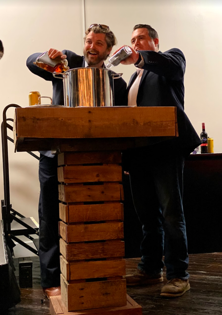 This year's event included the traditional military-inspired Grog Bowl Ceremony that everyone looks forward to watching... and grabbing a canteen cup so they can drink from the bowl!