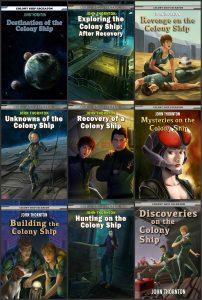 Featured Book: The Colony Ship Eschaton by John Thornton