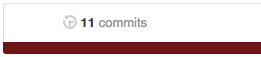 num of commits