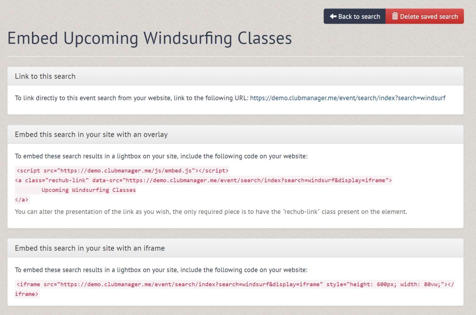 Embed windsurf