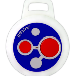 60008  | Two Button Round Tag