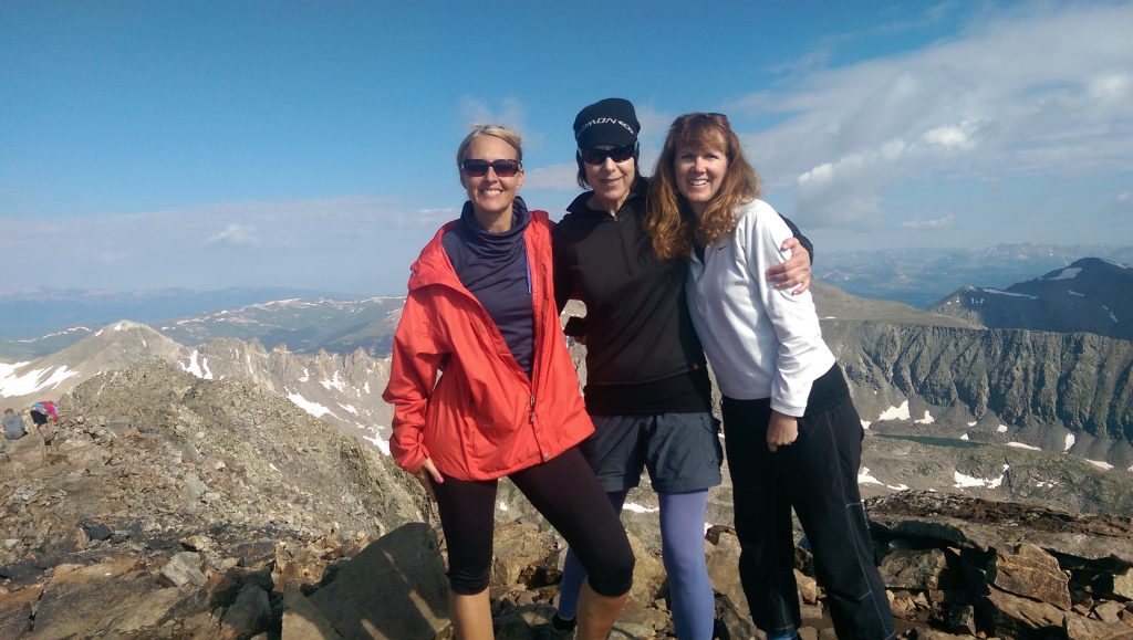 What a workout! Hiking Mt. Elbert