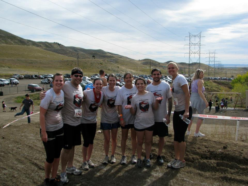Tough Mudder Race with a team of teachers
