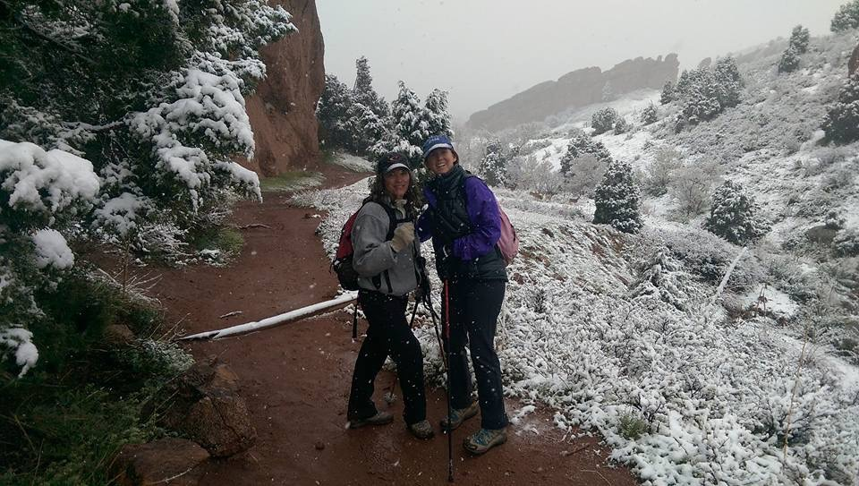 Training for trail running at Red Rocks