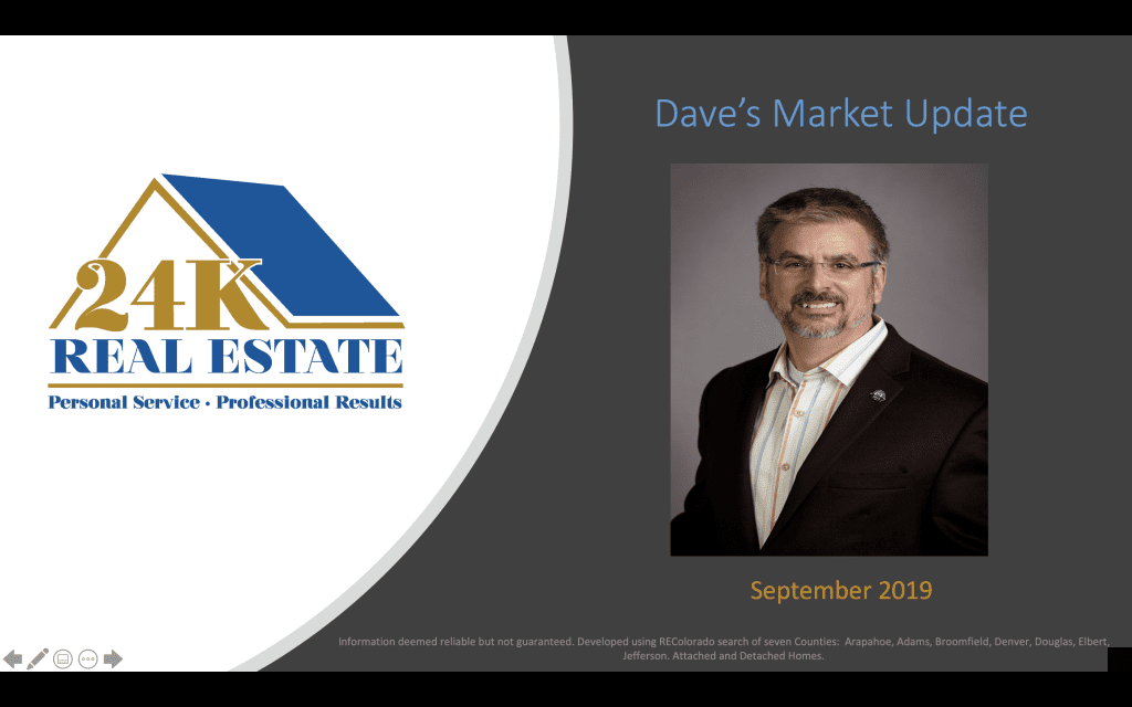 Dave's Market Update Sept 2019