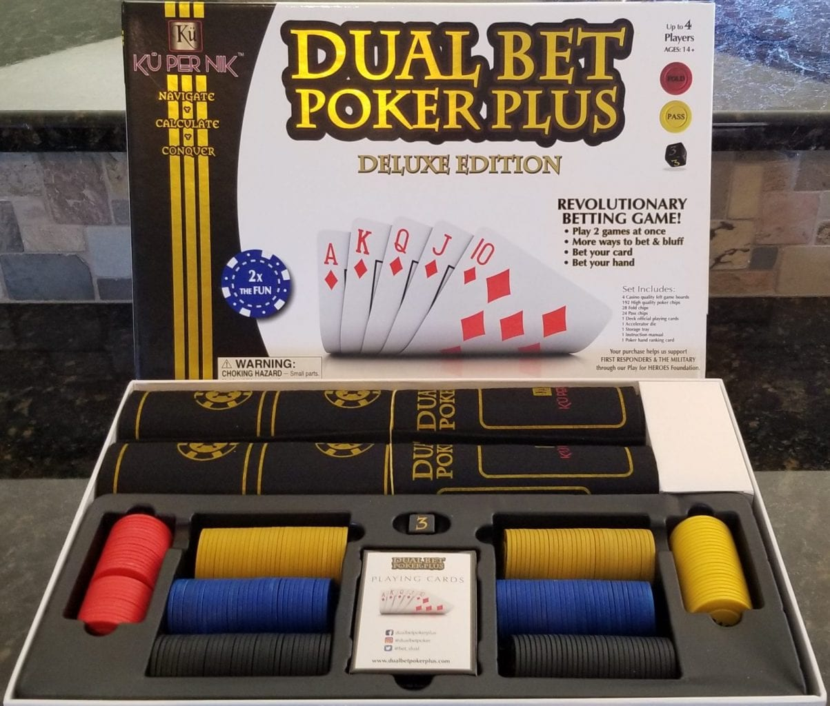 Dual Bet Poker Plus sample
