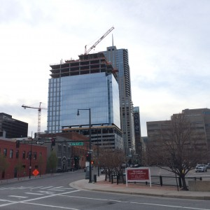 Denver's skyline continues to change, especially downtown.