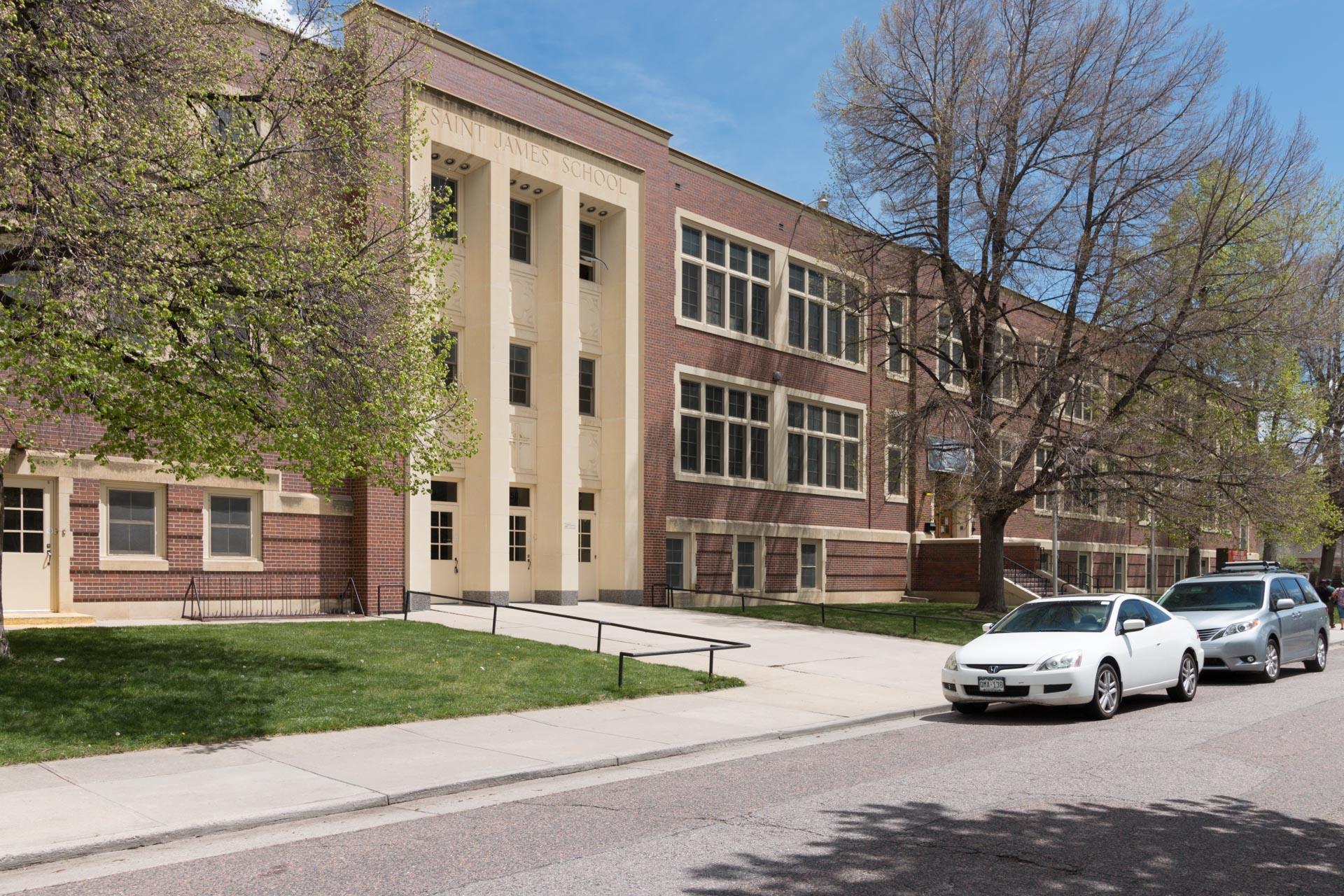 St. James Roman Catholic School in Montclair.