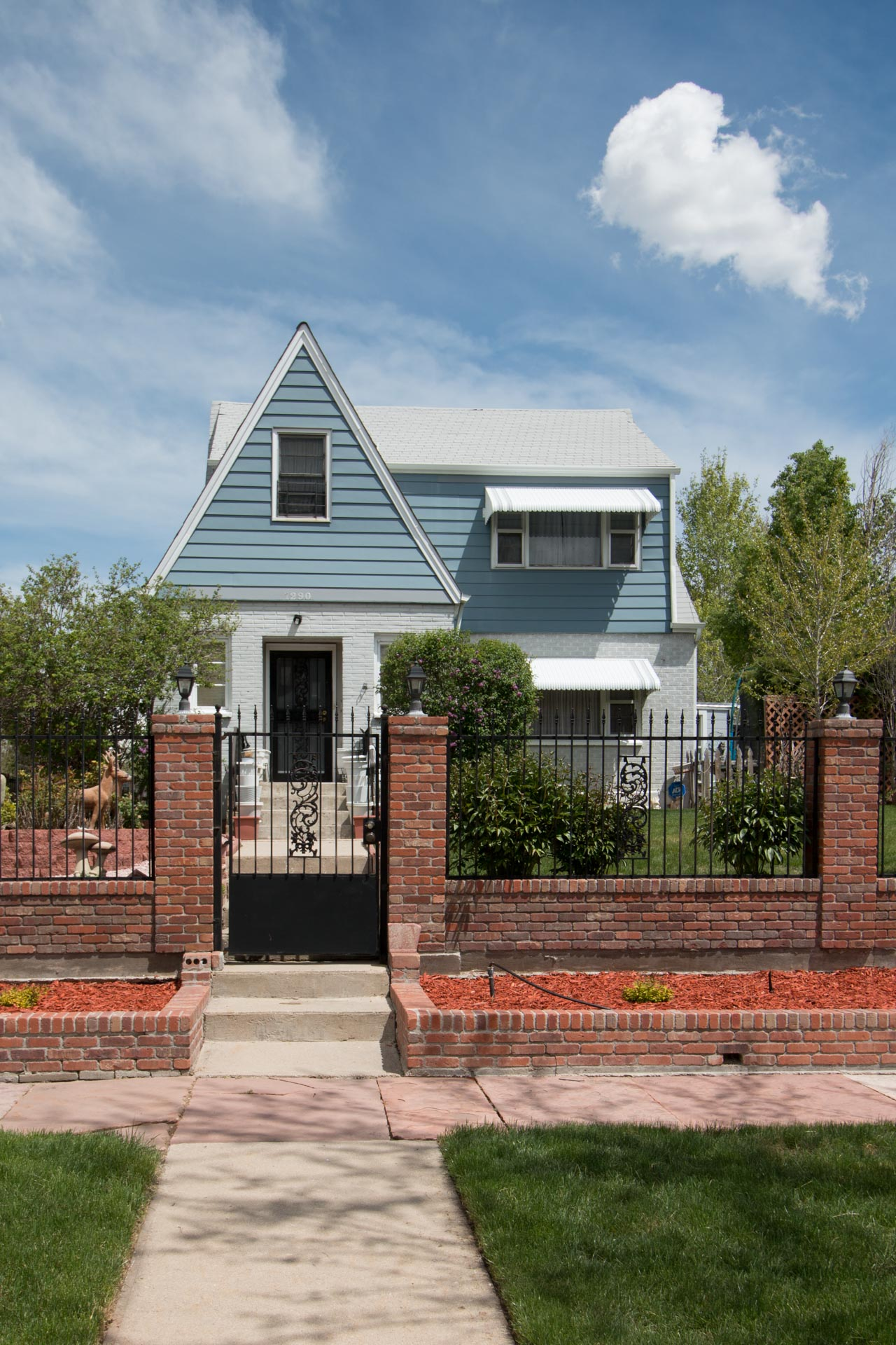 Arts and Crafts style home in Montclair.