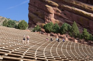 Climb the stands at Red Rocks for a real workout!