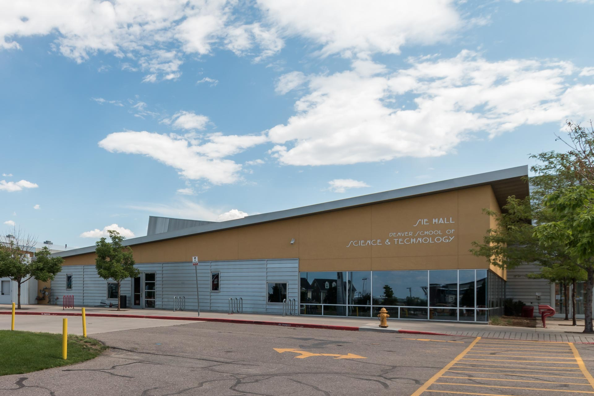 The Denver School of Science and Technology is located in Stapleton.