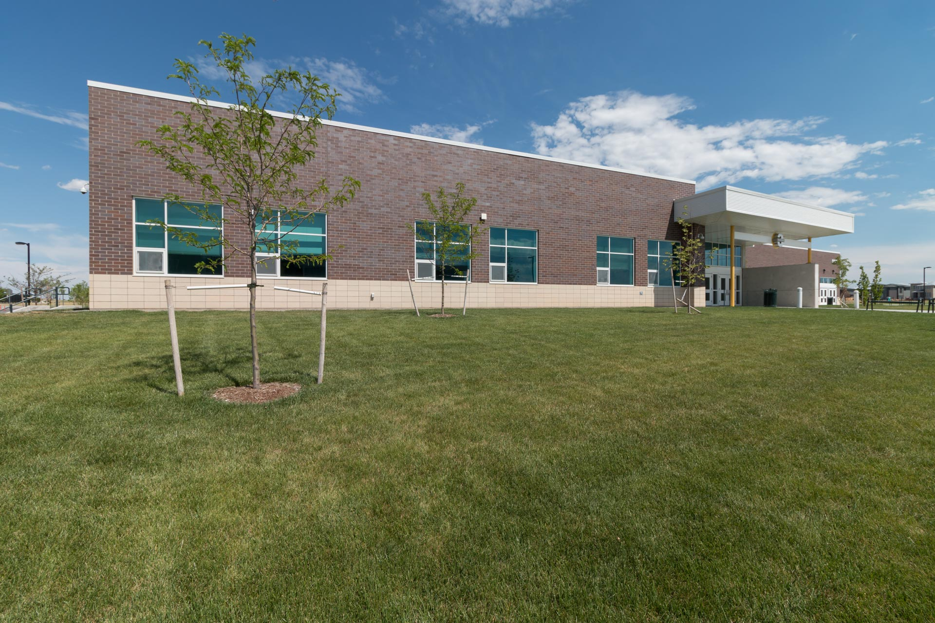 Northfield High School in Stapleton is the newest addition to area schools.