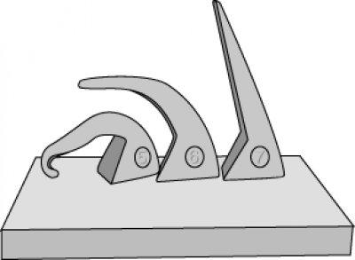 Cones bending normally