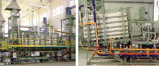 Frit processing equipment
