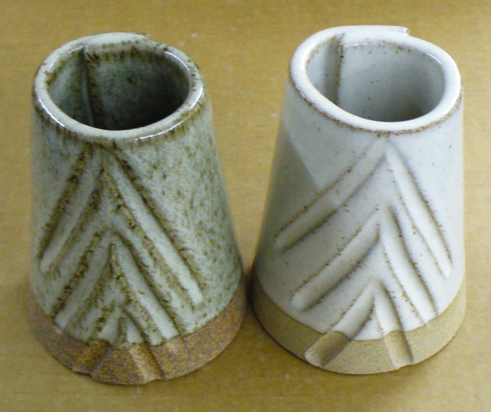 An example of the value of a good glaze testing sample.