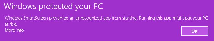 Windows SmartScreen issue with Digitalfire Insight