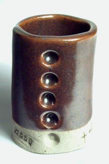 95% Alberta Slip plus 4% iron at cone 10R