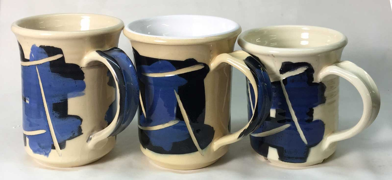 Zero6 porcelain, Ulexite and Fritted glazes, firing schedule