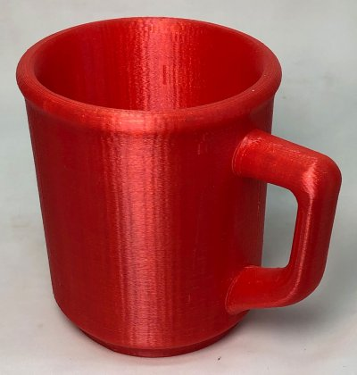 3D Printed mug prototype