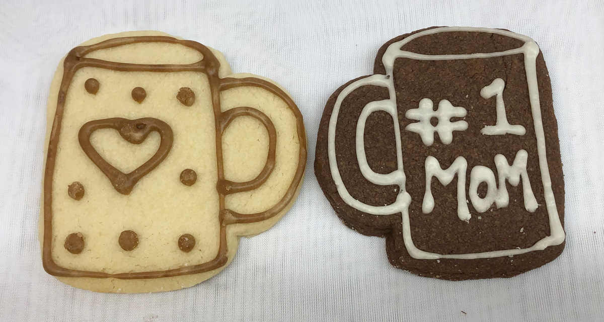 3D printed cookie cutters actually used to cut real cookies