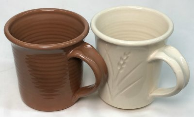 SIAL 10F and 25F with G3879 clear glaze at cone 04