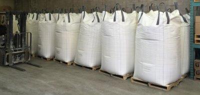 Bulk 2500 lb bulk bags of Pioneer Kaolin