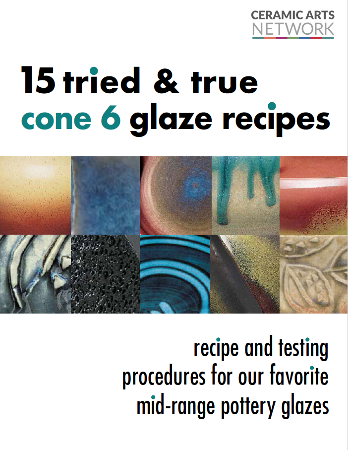 The cover of a book: 15 Tried and True Cone 6 Glaze Recipes