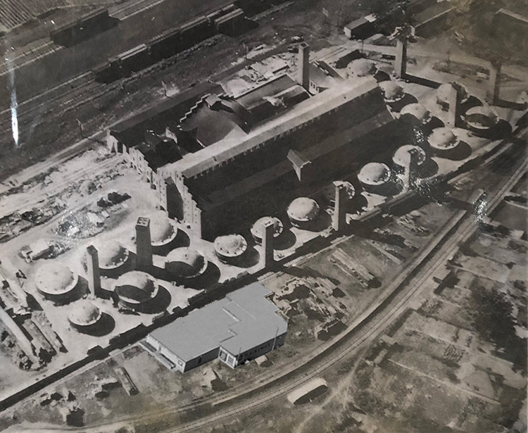 100 years ago, the Plainsman Clays plant would have been a small outbuilding at ACP