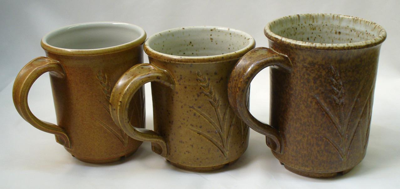 Ravenscrag GR10-J Cone 10R Bamboo glaze variation