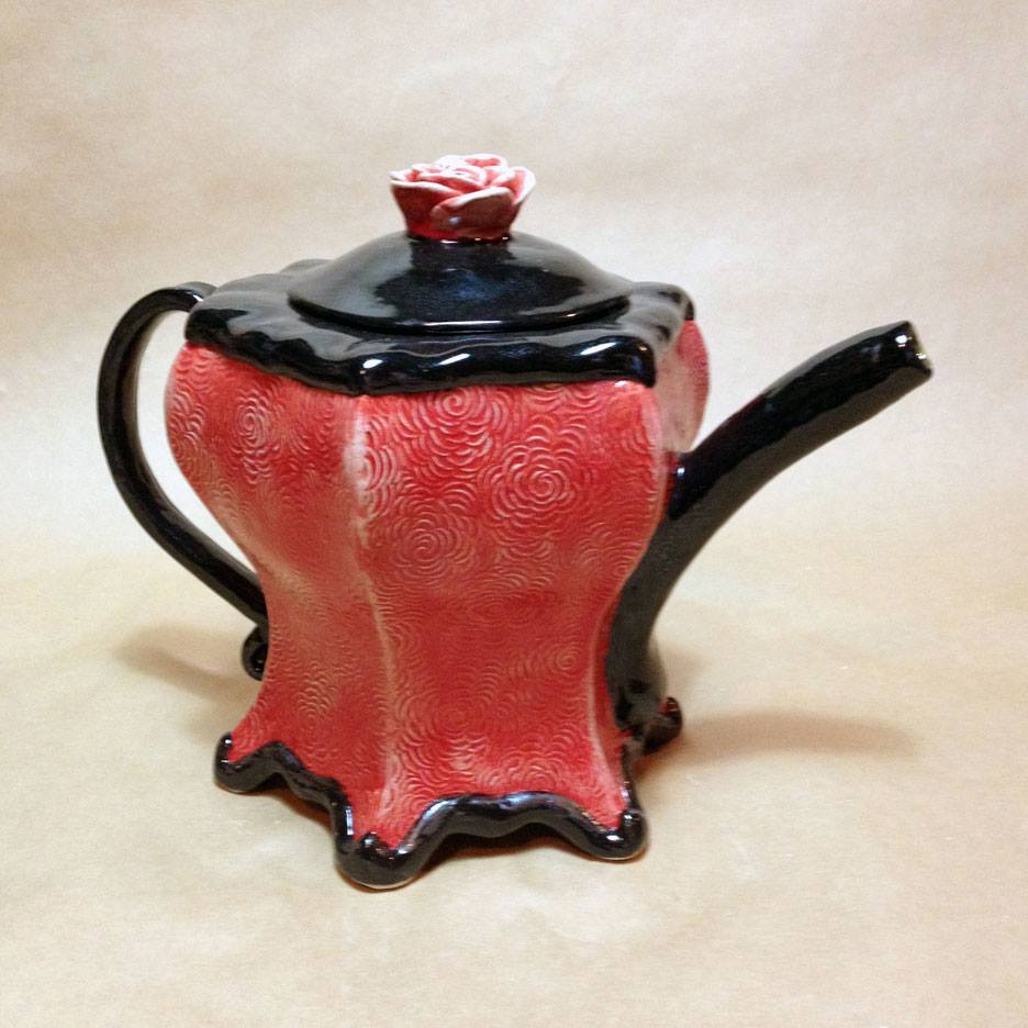 Teapot by Kathy Ransom