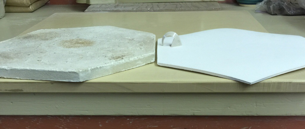 My first zircopax kiln shelf passed with flying colors
